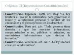 or genes iii repercusiones constitucionales