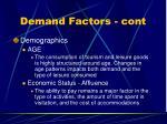 demand factors cont45