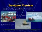designer tourism