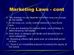 marketing laws cont
