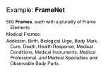 example framenet