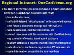 regional intranet onecaribbean org