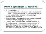 print capitalism nations