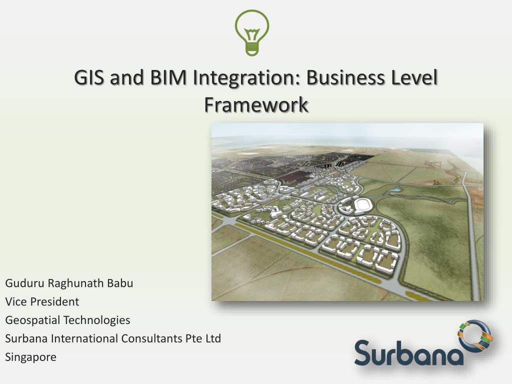 gis and bim integration business level framework l.
