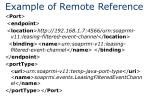 example of remote reference