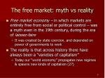 the free market myth vs reality