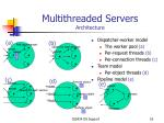 multithreaded servers architecture