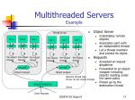 multithreaded servers example