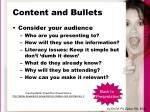 content and bullets24