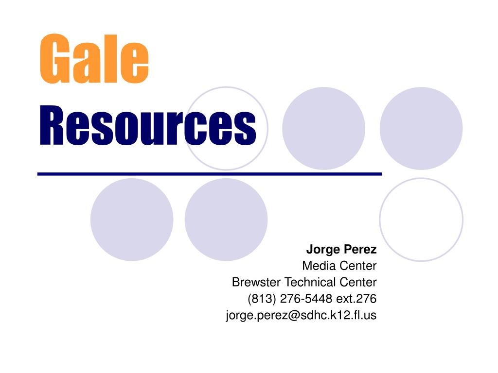 gale resources l.