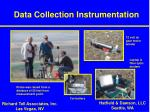 data collection instrumentation