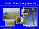 the test site shelby montana