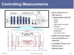 controlling measurements