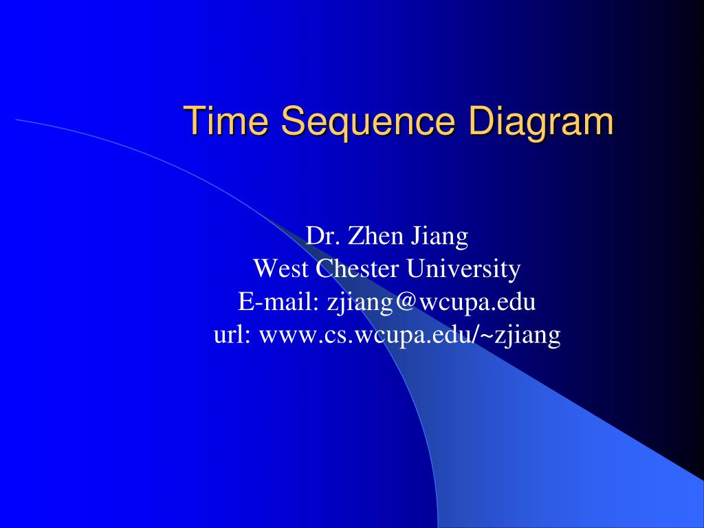 time sequence diagram l.