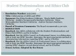student professionalism and ethics club4