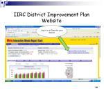 iirc district improvement plan website27
