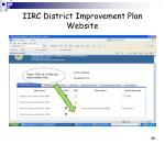 iirc district improvement plan website29