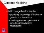 genomic medicine16