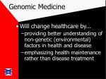 genomic medicine18