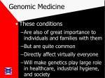 genomic medicine8