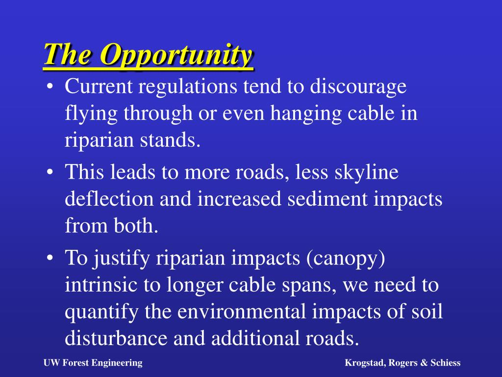 the opportunity l.