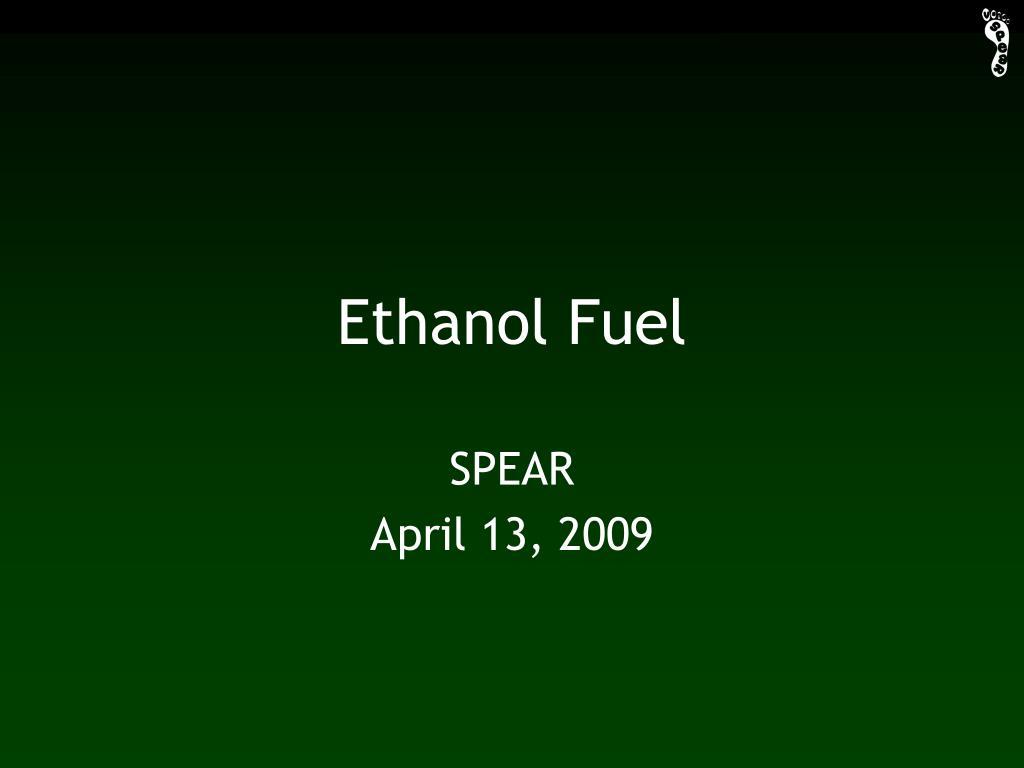 ethanol fuel l.