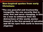 non inspired quotes from early christians14