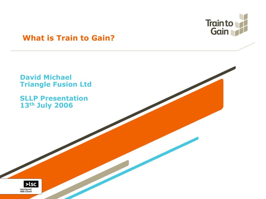what is train to gain l.