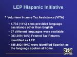 lep hispanic initiative7
