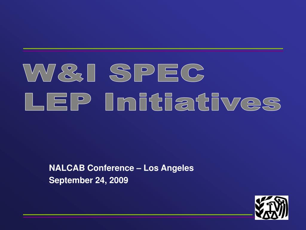 nalcab conference los angeles september 24 2009 l.