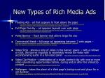 new types of rich media ads