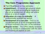 the care programme approach