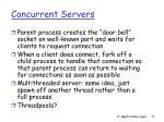 concurrent servers