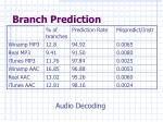 branch prediction28