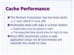 cache performance