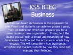 ks5 btec business