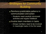 strategies for community building16