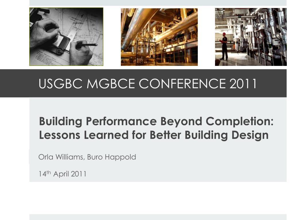 usgbc mgbce conference 2011 l.