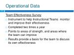 operational data11