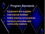 program standards26