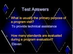 test answers37