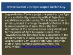 jaypee garden city agra jaypee garden city