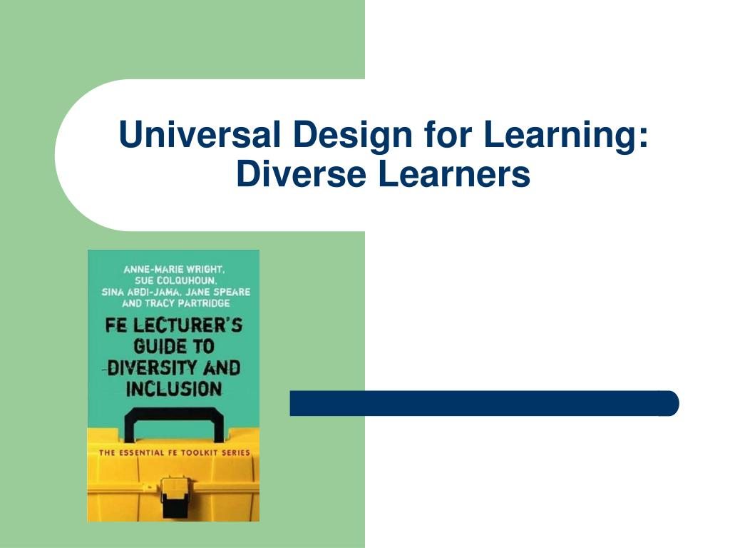 universal design for learning diverse learners l.