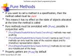 pure methods121
