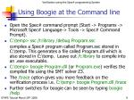 using boogie at the command line