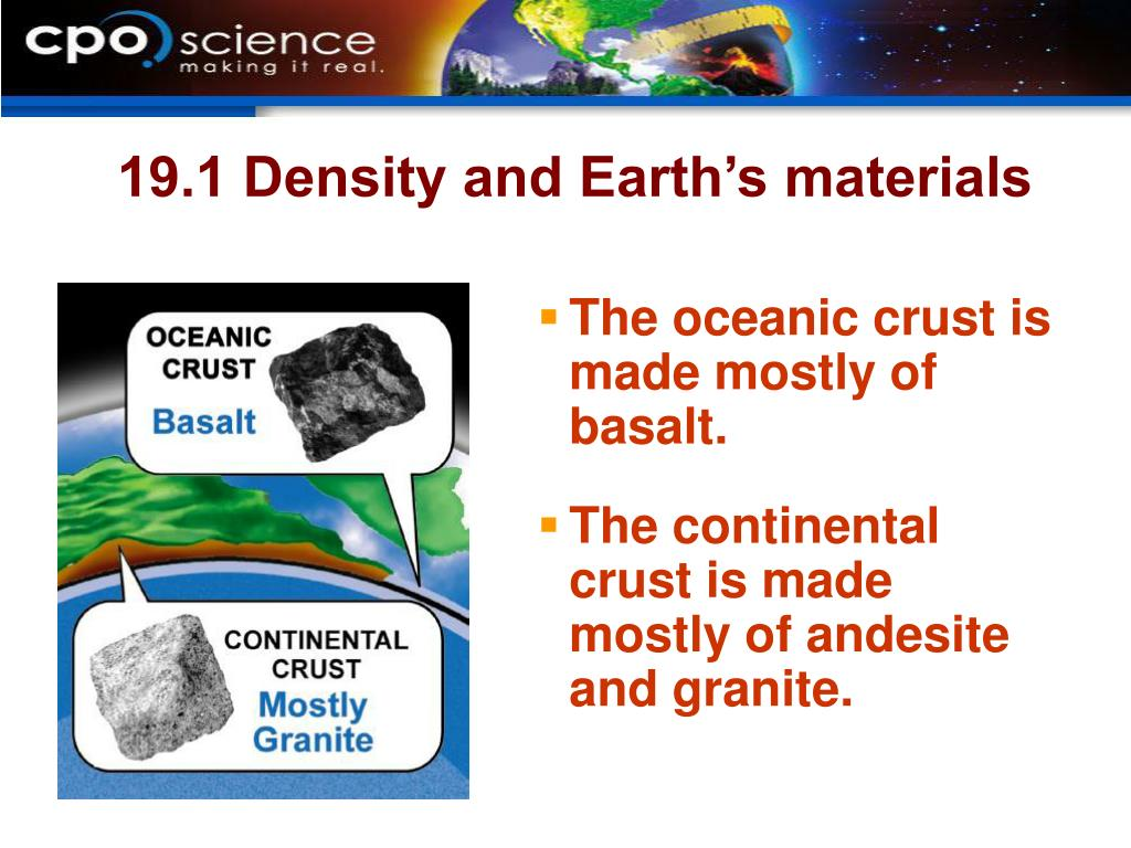 19.1 Density and Earth's materials
