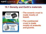 19 1 density and earth s materials19