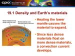 19 1 density and earth s materials20