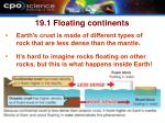 19 1 floating continents