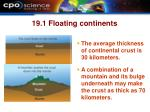 19 1 floating continents24